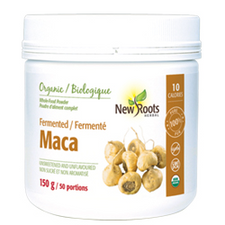 New Roots Herbal Organic Fermented Maca Powder | 628747023184