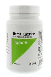 Trophic Herbal Laxative Plus Yogurt & Licorice | 069967113734