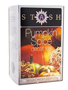 Stash Tea Decaf Pumpkin Spice Tea   077652083767