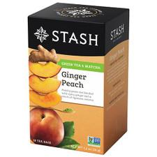 Stash Tea Ginger Peach Green Tea with Matcha   077652083651