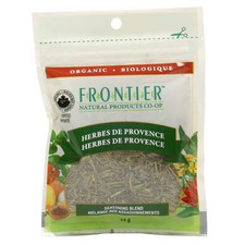 Frontier Natural Products Organic Herbes De Provence Seasoning Blend 14g | UPC: 089836210326