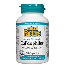 Natural Factors Cal'dophilus Super Strength 6 Billion Active Cells | 068958018218