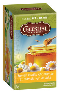 Celestial Seasonings Herbal Tea Honey Vanilla Chamomile | 070734053078