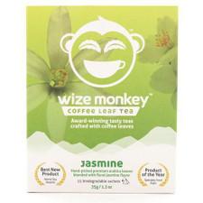 Wize Monkey Coffee Leaf Tea Jasmine   627843508854