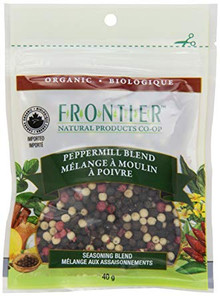 Frontier Natural Products Organic Peppermill Seasoning Blend 40g | UPC: 089836210401