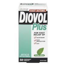 Diovol Plus Mint Tablets   0058738194560