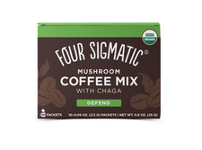 Four Sigmatic Mushroom Coffee Mix With Chaga  - Defend 10 Packets  | 4897039310721
