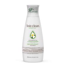 Live Clean Monoï Oil Strengthening Conditioner 350mL   065743328194