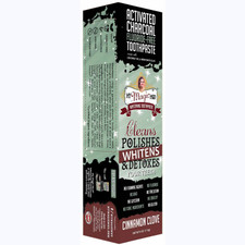 My Magic Mud Activated Charcoal Toothpaste for Whitening Cinnamon Clove | 868656000139