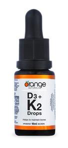 Orange Naturals D3 + K2 Liquid   886646020080