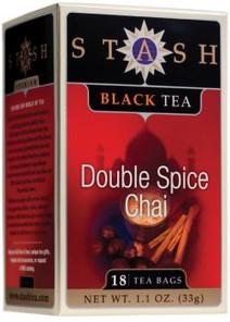 Stash Tea Double Spice Chai Tea   077652082654