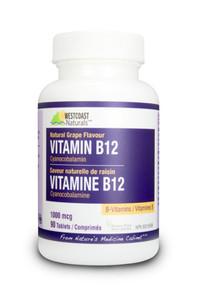 Westcoast Naturals Vitamin B12 1000 Mcg   626908302093