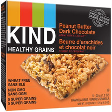 Kind Snacks Healthy Grains Peanut Butter Dark Chocolate Bar 5 x 35g |