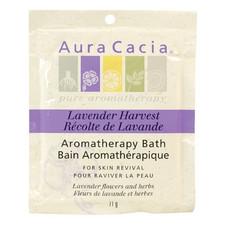 Aura Cacia Lavender Harvest Mineral Bath Box   051381286163