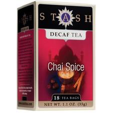 Stash Tea Decaf Chai Spice Tea   077652082791