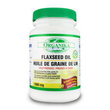Organika Flaxseed Oil 1000mg | 620365013769