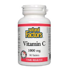 Natural Factors Vitamin C 1000mg Time Release | 068958013411