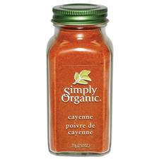 Simply Organic Cayenne Pepper 71 g   089836192240