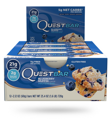 Quest Protein Bar Blueberry Muffin | 888849004454