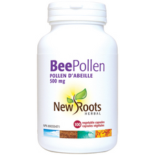 New Roots Herbal Bee Pollen 500mg | 628747114127