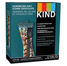Kind Snacks Almond Sea Salt & Dark Chocolate 12 x 40g   602652170751