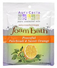 Aura Cacia Foam Bath - Peaceful Patchouli and Sweet Orange | 051381285784