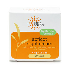 Earth Science Naturals Apricot Night Cream | 054986001124