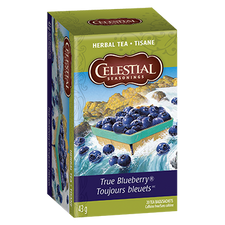 Celestial Seasonings Herbal Tea True Blueberry | 070734070754