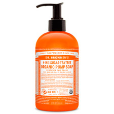 Dr. Bronner's 4-in-1 Sugar Tea Tree Organic Pump Soap 355ml | 018787950036