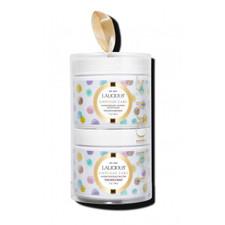 Lalicious Tavel Size Mini Duo Birthday Cake - Sugar Scrub  & Body Butter 2 x 2 oz    Scrub UPC 85912005641   Butter UPC: 859192005818
