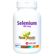 New Roots Herbal Selenium 100mcg | 628747114592