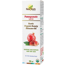 New Roots Herbal Organic Pomegranate Seed Oil | 628747221962