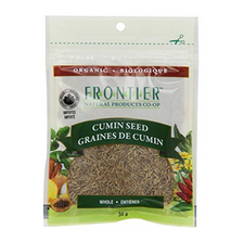Frontier Natural Products Organic Cumin Seed Whole | UPC: 089836210258