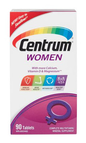 Centrum Multivitamin for Women Tablets | 0062107084703