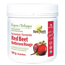 New Roots Herbal Organic Fermented Red Beet Powder | 628747023405