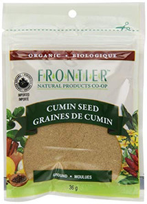 Frontier Natural Products Organic Cumin Seed Ground 36g   UPC: 089836210241