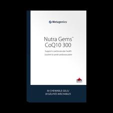Metagenics NutraGems CoQ10 300 30 Chewable Gels | 755571930880