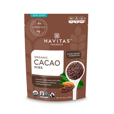Navitas Organics Organic Cacao Nibs 227 g | 858847000680