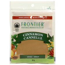 Frontier Natural Products Organic Cinnamon Ground 30 g   UPC: 089836210203