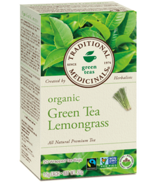 Traditional Medicinals Organic Green Tea Lemongrass | 032917000781