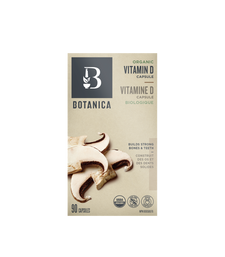 Botanica Organic Vitamin D Capsule 90 Capsules   822078957334