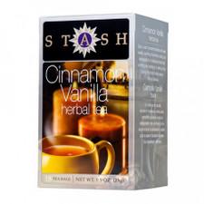 Stash Tea Cinnamon Vanilla Herbal Tea   077652084818