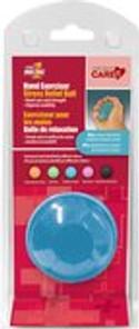 Card Health Cares First Medic Hand Exerciser Ball Medium Blue | 872798009837