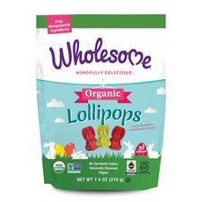 Wholesome Sweeteners Organic Bunny Lollipops | 012511531362