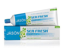 Jason Sea Fresh Strengthening Fluoride-Free Toothpaste - Deep Sea Spearmint 170g | 78522015109