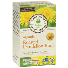 Traditional Medicinals Organic Roasted Dandelion Root | 032917101754