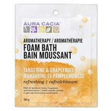 Aura Cacia Foam Bath - Refreshing Tangerine & Grapefruit  | 051381285753
