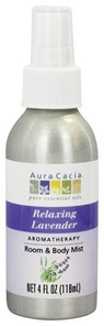 Aura Cacia Aromatherapy Mist Calming and Relaxing Lavender 118 ml | 051381286361