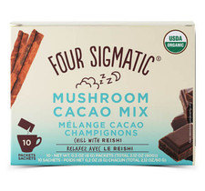 Four Sigmatic Mushroom Cacao Mix With Reishi - 10 Packets   4897039310462