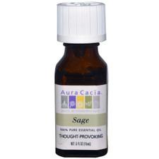 Aura Cacia Sage Essential Oil | 051381311353
